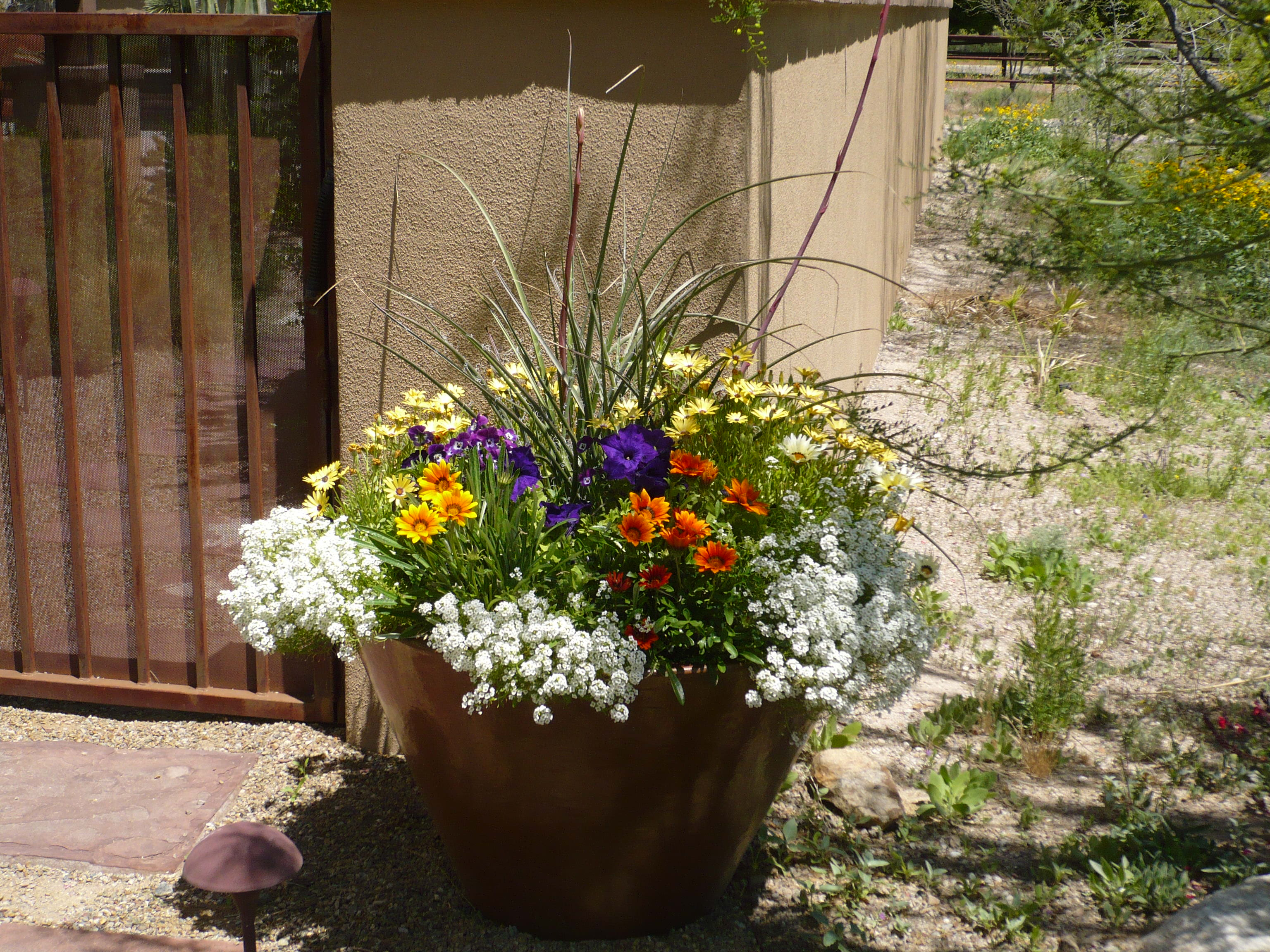Real estate how all about real estate and home improvement for Potted garden designs